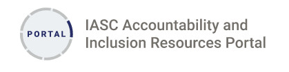 Logo of IASC Accountability and Inclusion Portal