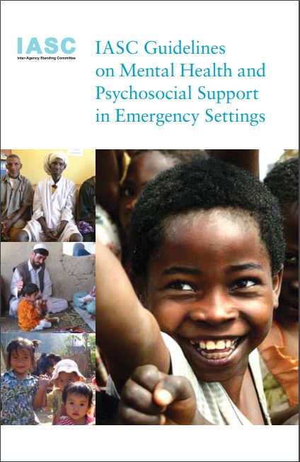 Cover, Iasc Guidelines on Mental Health and Psychosocial Support in Emergency Settings