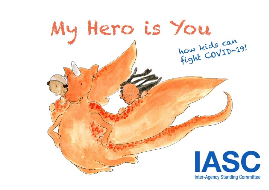 Cover of the story book My Hero is You