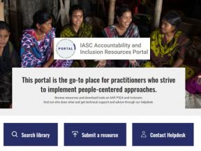 IASC AAP and inclusion resources portal