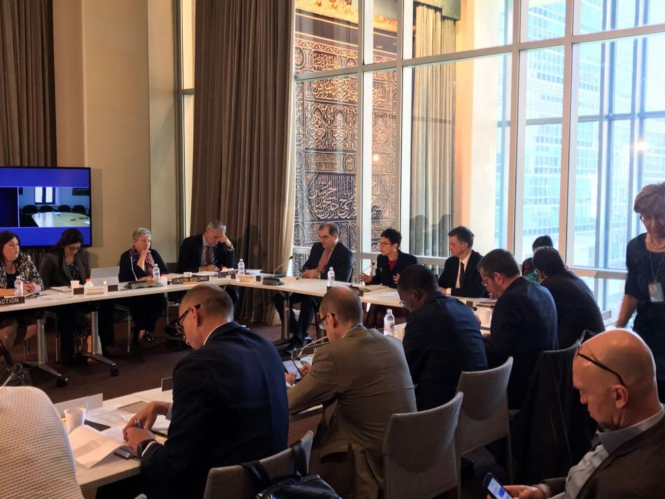 IASC WG/EDG meeting, 26 April 2018, Hosted by UNDP