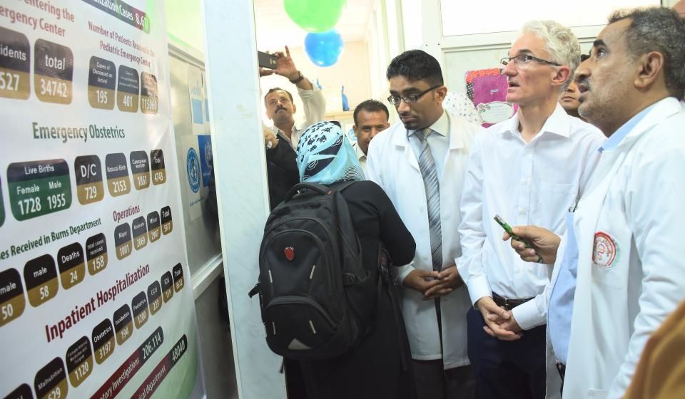 USG Visit to Yemen - Oct 2017
