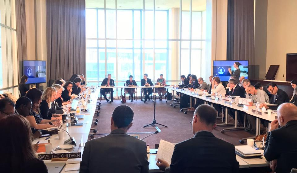 IASC WG/EDG meeting, 26 April 2018, Hosted by UNDP (its members)