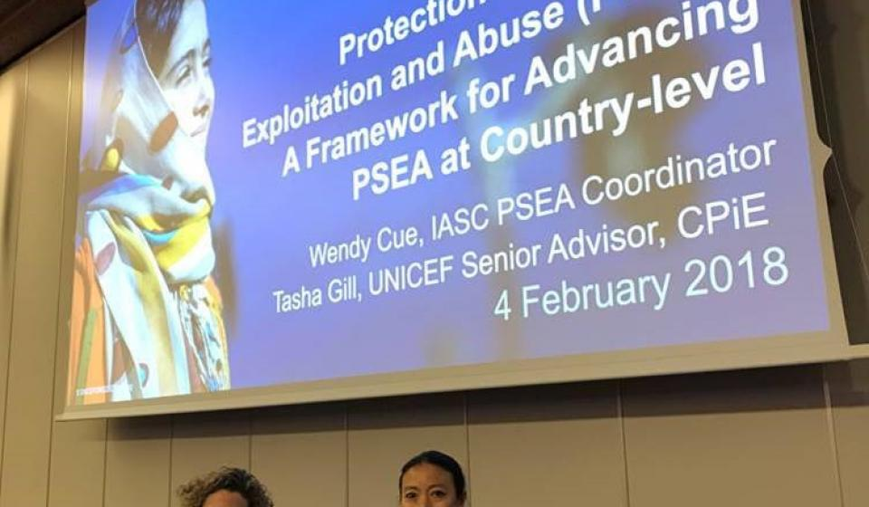 Protection from Sexual Exploitation and Abuse (PSEA): A Framework for Advancing PSEA at Country-level